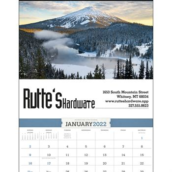 American Splendor Large 2022 Wall Calendar - Personalization Available