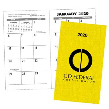 Classic Weekly Pocket Planner - Personalization Available