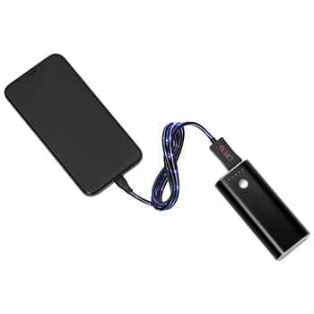 2-In-1 Light Up Charging Cable - Personalization Available