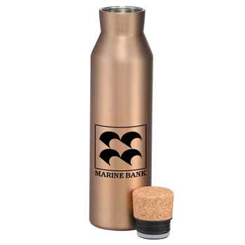 Norse Vac Insulated Bottle With Cork 20-Oz. - Personalization Available