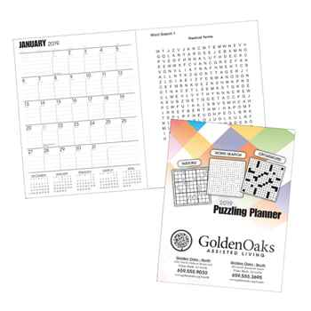 2019 Puzzling Planner - Personalization Available