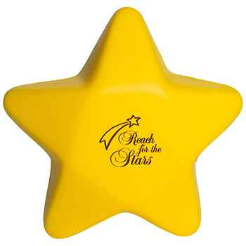 Slow Return Foam Star Squeezies Stress Reliever - Personalization Available
