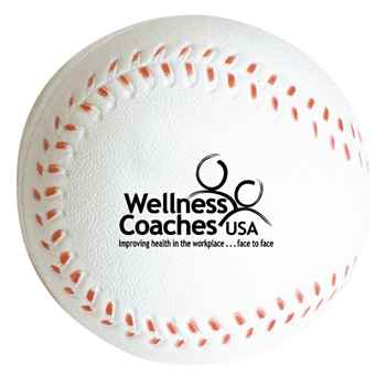 Slow Return Foam Baseball Squeezies Stress Reliever - Personalization Available