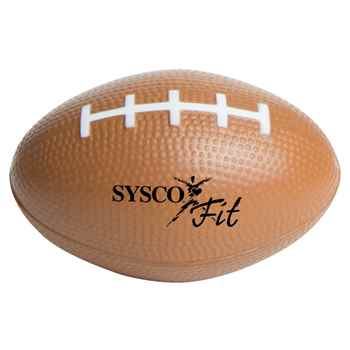 Slow Return Foam Fotball Squeezies Stress Reliever - Personalization Available