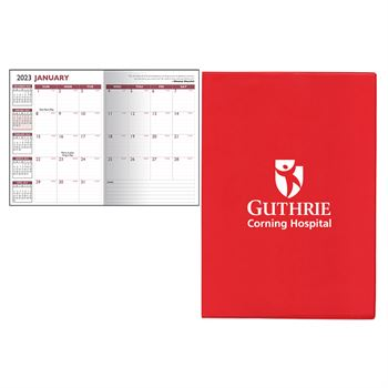 2020 7 x 10 Standard Vinyl Cover Monthly Planner - Personalization Available