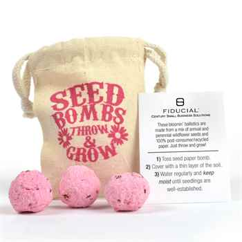 Seed Bomb Bag - 3 Pack - Personalization Available