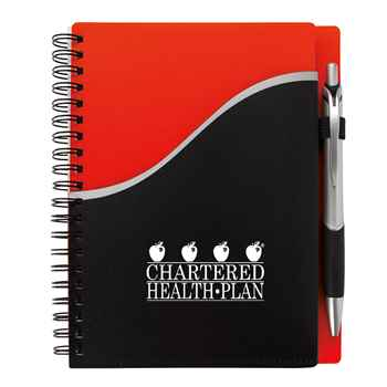 Pitch Notebook With Jive Pen - Personalization Available