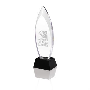 Oval Step Award - Personalization Available