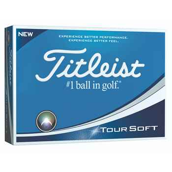 Titleist® Tour Soft Golf Balls (Standard Service) - Personalization Available