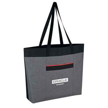 Heathered Tote Bag - Personalization Available