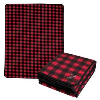 Northwoods Plaid Blanket - Personalization Available
