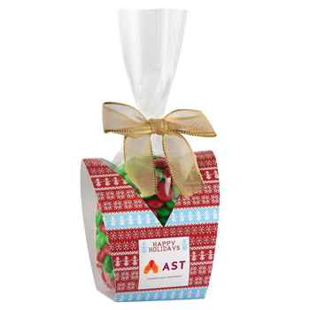 Ugly Sweater Desk Drop With Holiday M&M's® - Personalization Available