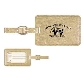 Metallic Luggage Tag - Personalization Available