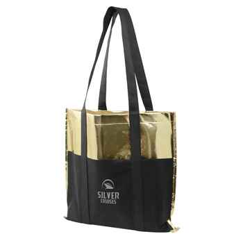 Metallic Poly Pro Boat Tote - Personalization Available