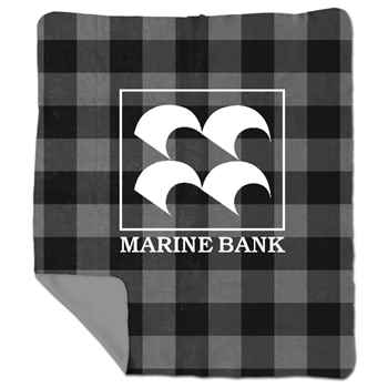 Aberdeen Plaid Blanket™ - Personalization Available