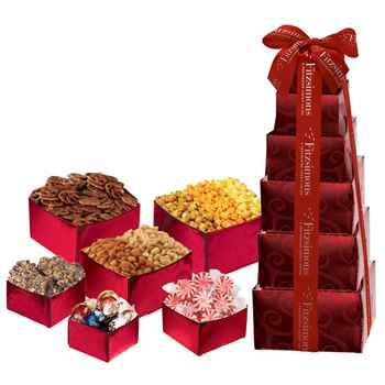 Contemporary Celebration Snack Tower - Personalization Available