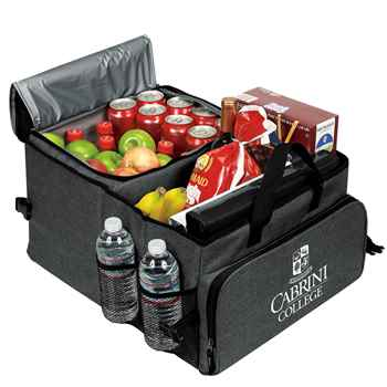 Deluxe 40-Can Cooler / Trunk Organizer - Personalization Available