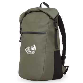 Call of the Wild Roll-Top Water-Resistant 2L Backpack - Personalization Available