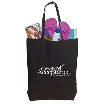 Cotton Shopper Tote Bag Colors - Personalization Available