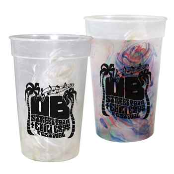 Rainbow Confetti Mood Cup 17-Oz. - Personalization Available