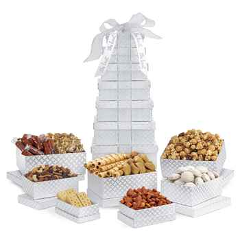 Sunsational Deluxe Shimmering Sweets and Snacks Gourmet Tower