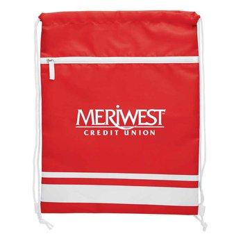 Striped Sports Bag