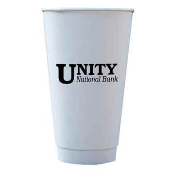 16-Oz. Insulated Paper Cups - Personalization Available