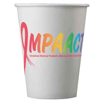 Digital 12-Oz. Hot/ Cold Paper Cups - Personalization Available