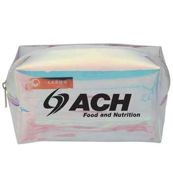 Iridescent Travel Pouch - Personalization Available