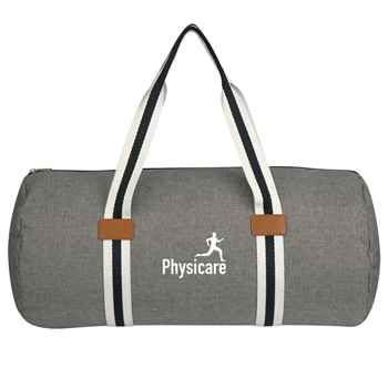 Capetown Heathered Duffel Bag - Personalization Available