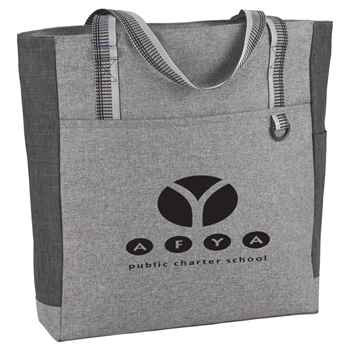 Logan Zippered Tote - Personalization Available