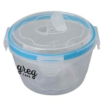 Large Locking Lid Bowl - Personalization Available
