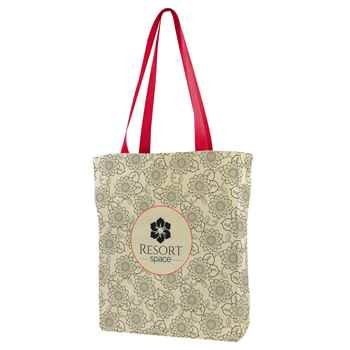 All Over Print Gusseted Tote - Personalization Available