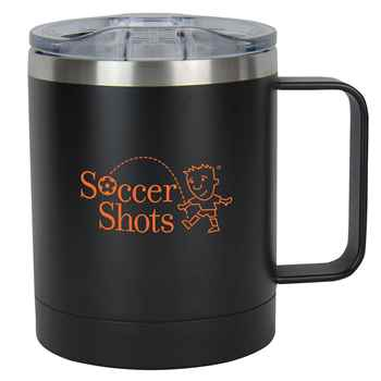 Double Wall Stainless Steel Vacuum Coffee Cup 11-Oz. - Personalization Available