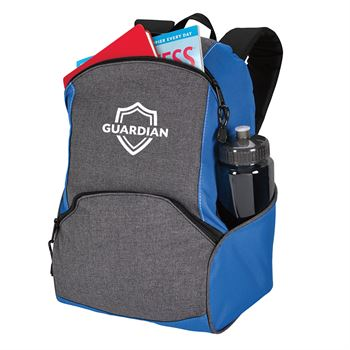 On The Move Two-Tone Backpack - Personalization Available