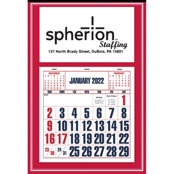 Red 2020 Apron Calendar - Personalization Available