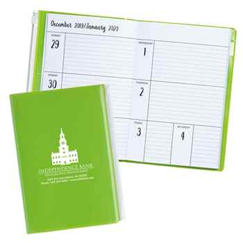 Monthly Weekly 2021 Planner with Clear Pocket - Personalization Available