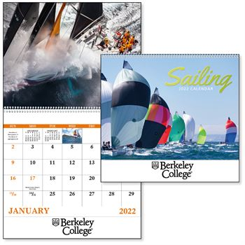 Sailing 2020 Calendar-Spiral - Personalization Available