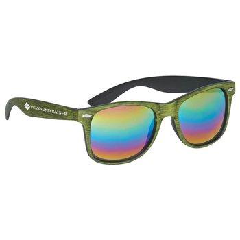 Woodtone Mirrored Malibu Sunglasses - Personalization Available