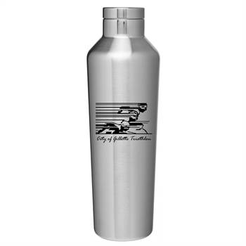 NYC Powder-Coated Stainless Steel Bottle 20.9-Oz. - Personalization Available