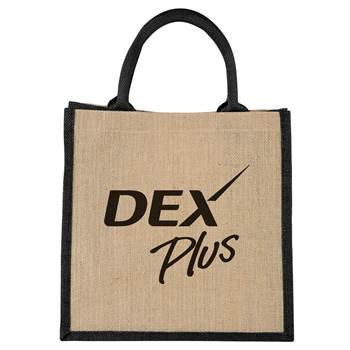 Medium Jute Gift Tote - Personalization Available