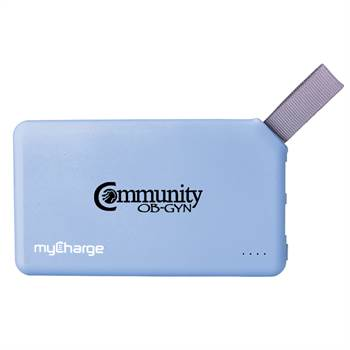 myCharge® GOBIG 6000 mAh Power Bank - Personalization Available