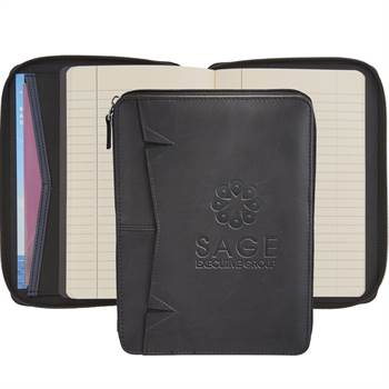 Pedova™ RFID Jr. Zippered Padfolio - Personalization Available