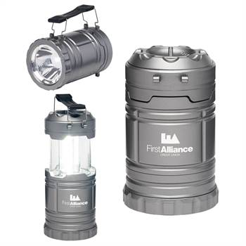 Retractable Flashlight and Lantern - Personalization Available