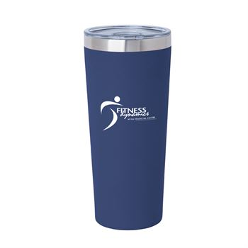 Biere Fire & Ice Stainless Steel Tumbler 22-Oz. - Silkscreened Personalization Available