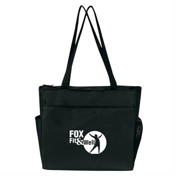 On-The Go Zip Tote - Personalization Available