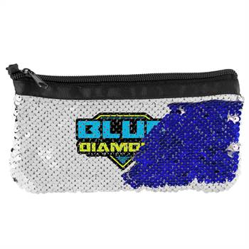 Vibrant Sequin Pouch - Personalization Available