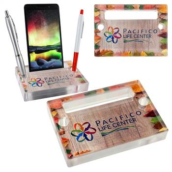 Full Color Acrylic Phone Stand - Personalization Available