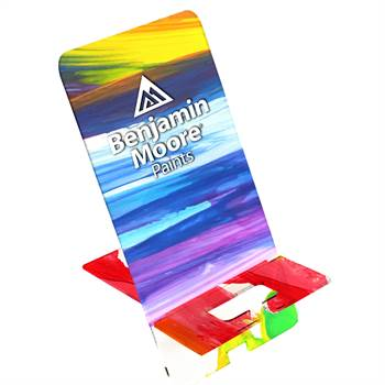 Upright Acrylic Phone Stand - Full-Color Personalization Available