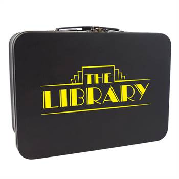 Matte Finish Retro Lunch Box - Personalization Available